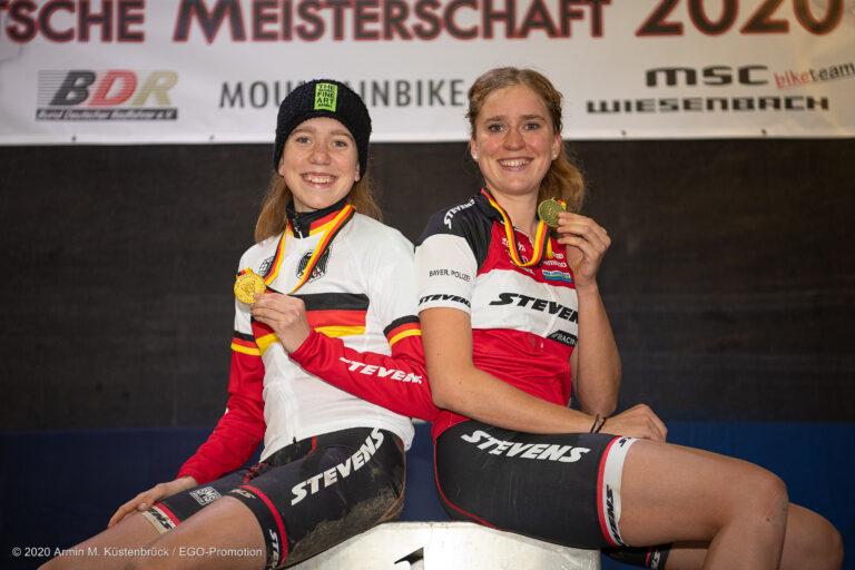 201, Daubermann, Luisa, Stevens MTB, VC Lechhausen, GER3, Daubermann, Antonia, Stevens MTB, TSV Dettingen/Ems, GER